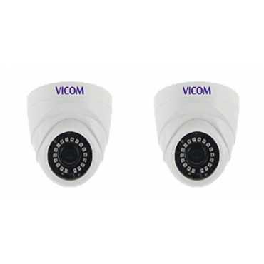 Vicom VES1016HD Dome Camera (Pack Of 2) - White