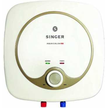 Singer Aqua Calda DX 15L Water Geyser - White