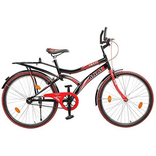 Atlas Amaze 26T Bicycle - Black