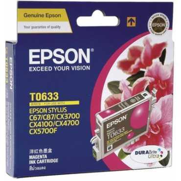 Epson T0633 Magenta Ink Cartridge - Pink