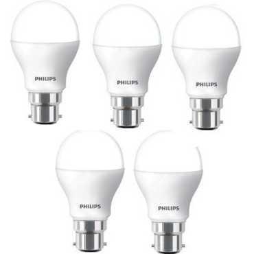 Philips 14 W B22 Base 1400L White LED Bulb (Pack of 5) - White