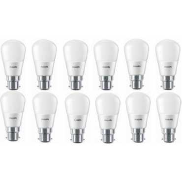 Philips 2 7 W LED Bulb B22 6500k White pack of 12