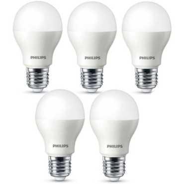 Philips 7W Standard E27 625L LED Bulb White Pack of 5