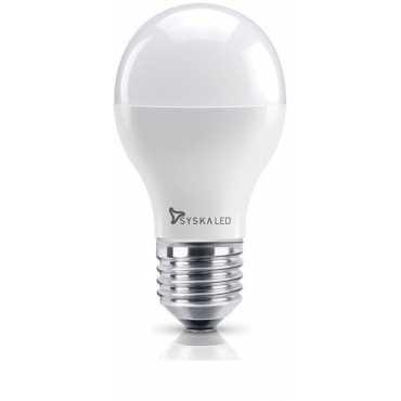 Syska 3W Yellow LED Bulb E27 Base