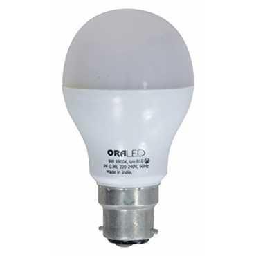 ORA 9W B22 LED Bulb (Cool White) - White
