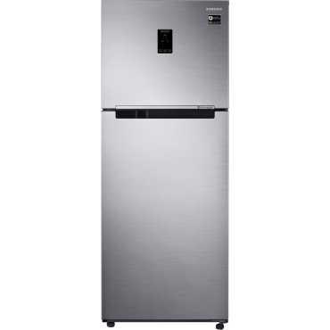 Samsung RT39M5538S9 394L Double Door Refrigerator (Refined Inox)