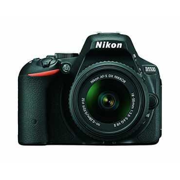 Nikon D5500 (with AF-S 18-55mm VRII Kit Lens) DSLR - Black