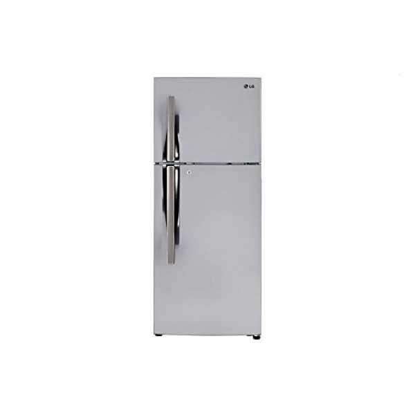 LG GL-I292RPZY 260L 3S Double-Door Refrigerator (Shiny Steel)