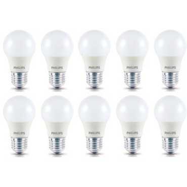 Philips 4W Standard E27 350L LED Bulb Yellow Pack of 10
