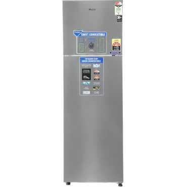 Haier HEF-27TSS 276 L 3 Star Frost Free Double Door Refrigerator - Steel
