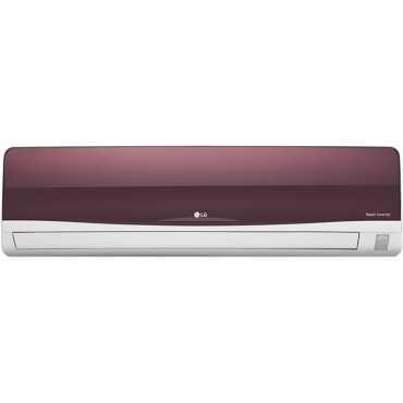 LG JS-Q12WTXD 1 Ton 3 Star Inverter Split Air Conditioner - Red