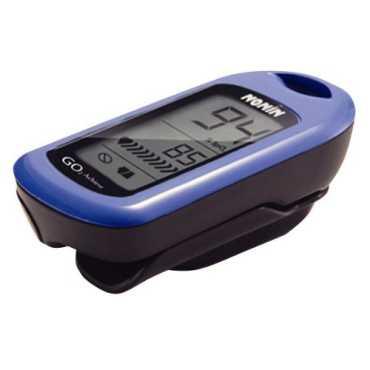 Nonin GO2-9570 LCD Pulse Oximeter - Orange   Green   Blue