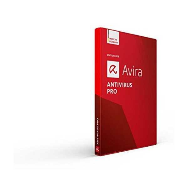 Avira Antivirus Pro 2018 1 PC 1 Year Antivirus