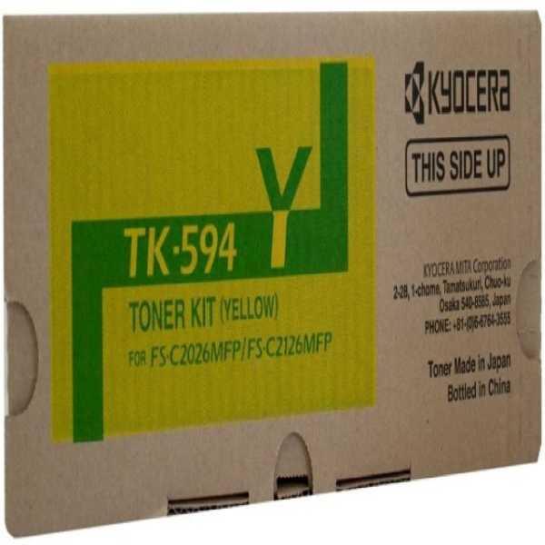 Kyocera TK-594 Yellow Toner Cartridge