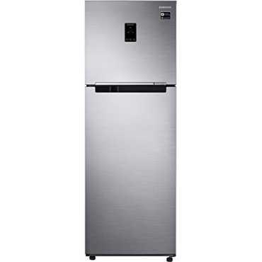 Samsung RT34M5518S8 HL 321 L 3 Star Inverter Frost Free Double Door Refrigerator Elegant Inox