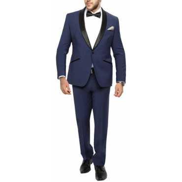 Bsquare Tuxedo Solid Men's Suit
