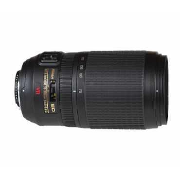 Nikon AF-S VR Zoom-Nikkor 70-300mm f/4.5-5.6G IF-ED (4.3x) Lens - Black