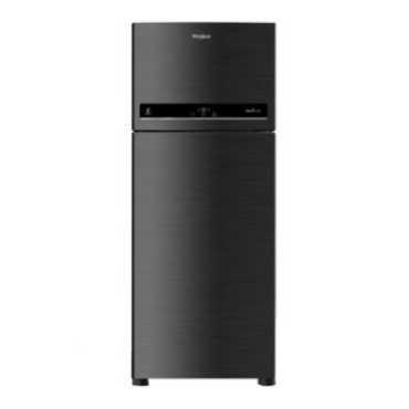 Whirlpool IF 515 ELITE 3S 500L Double Door Refrigerator Caviar Black