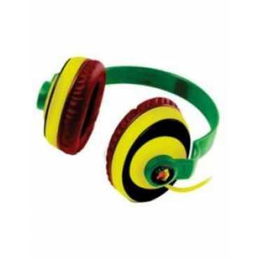 Amkette Freespirit Rasta Headphone