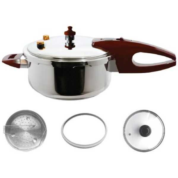 Wonderchef 51111137 Essenza Italiana 3 L Pressure Cooker (Induction Base)