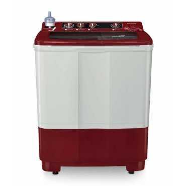 Panasonic 6.5 Kg Semi Automatic Washing Machine (W65B3RRB) - White | Red