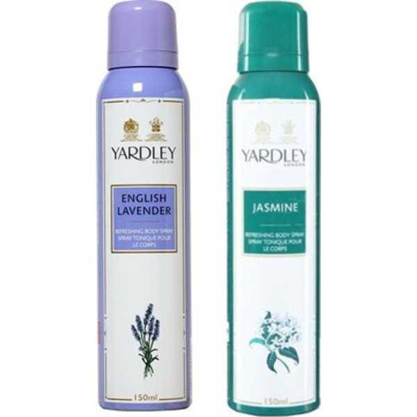 Yardley English Lavender and Jasmine Combo Set of 2