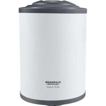 Maharaja Whiteline Classico DLX 10L Storage Water Geyser - White