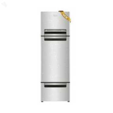 Whirlpool FP 313D PROTTON Royal (Steel Knight) 300 Litres Triple Door Refrigerator - Silver | Steel