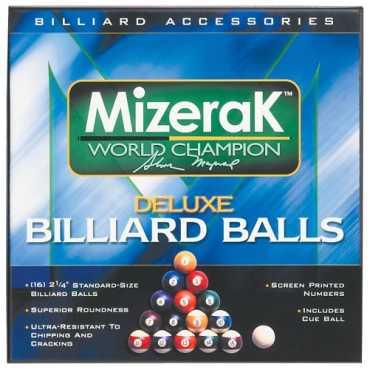 Mizerak P0512 Deluxe Billiard Ball Set