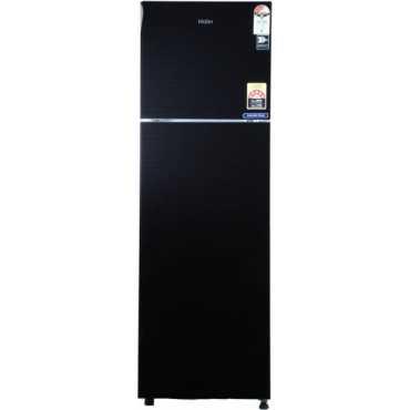 Haier HRF-2983CKG-E 278 L 3 Star Frost Free Double Door Refrigerator - Black