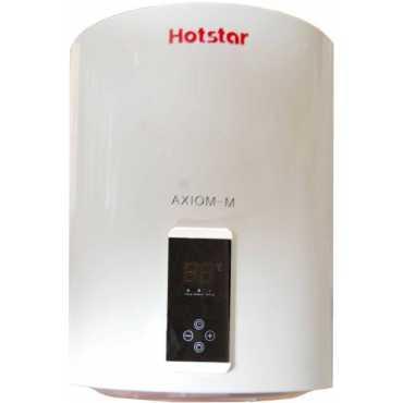 Hotstar Axiom-M 25L Digital Temperature Display Water Geyser - White