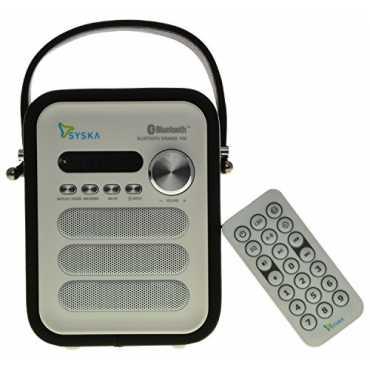 Syska P50 Bluetooth Speaker - Black