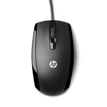 HP X500 USB Mouse - Black
