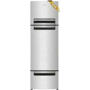 Whirlpool FP 343D Protton Royal (Steel Knight) 330 Litres Triple Door Refrigerator - Silver