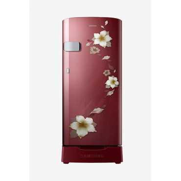 Samsung RR19N2Z22R2/NL 192 L 2 Star Direct Cool Single Door Refrigerator (Star Flower) - Red