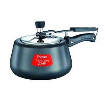 Prestige Nakshatra Cute 3 L Hard Anodized Pressure Cooker Induction Bottom Inner Lid