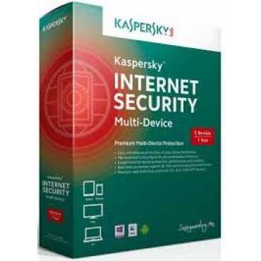 Kaspersky Internet Security 2015 5 PC 1 Year Antivirus