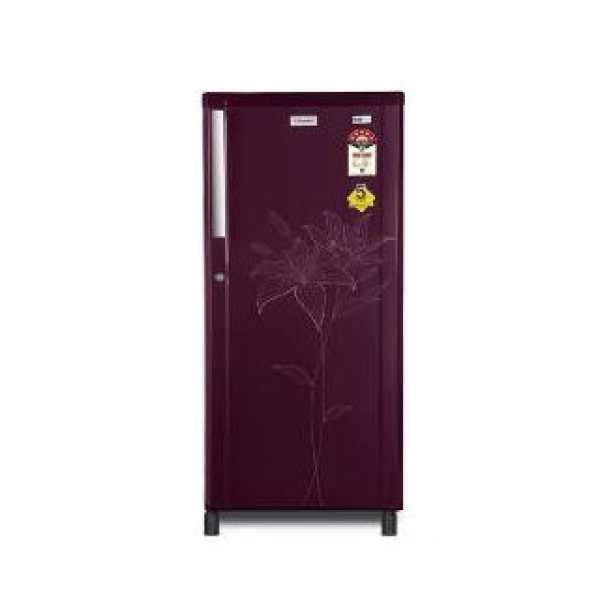 Electrolux EBL225T Single Door 215 Litres Refrigerator - Black