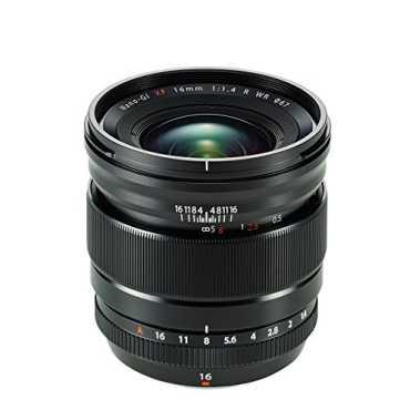 Fujifilm XF 16mmF 1.4 R LM WR Lens - Black
