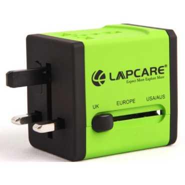 Lapcare Dual USB Port Worldwide Adapter