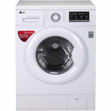 LG 6 Kg Front Loading Washing Machine (FH0G7NDNL52) - Silver