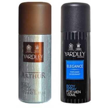 Yardley  Arthur and Elegance Combo (Set of 2)