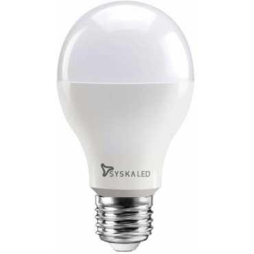 Syska 12W Round E27 1200L LED Bulb (White) - White