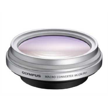 Olympus MCON-P01 Macro Converter (For M.Zuiko Digital 14-42 mm II, 14-150 mm, 40-150 mm) - Silver