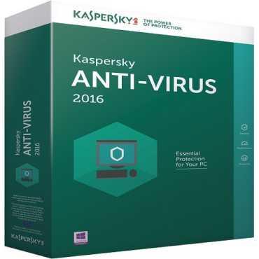 Kaspersky Antivirus 2016 5 PC 1 Year