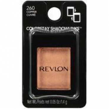 Revlon Colorstay Shadowlinks Metallic Eye Shadow (260 Copper) - Brown
