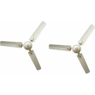 Crompton Greaves Brizair Deco 3 Blade Ceiling Fan (Pack of 2)