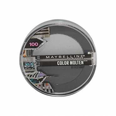 Maybelline Eye Studio Color Molten Cream Eye Shadow (403 Stroke of Silver) (Limited Edition) - Silver
