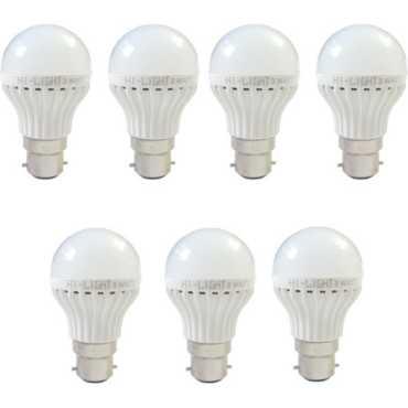 Hi-Light 3W B22 LED Bulb White Set of 7