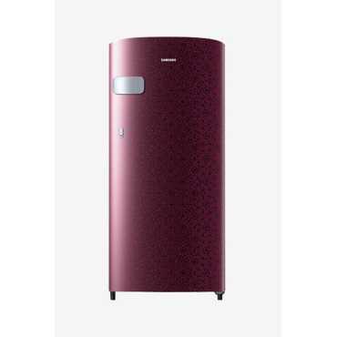 Samsung RR19N1Y12MR/HL 192 L 2 Star Direct Cool Single Door Refrigerator (Ombre)